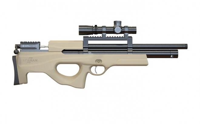 Пневматическая винтовка Ataman M2R Булл-пап 6,35 мм (Песочный)(магазин в комплекте)(446С/RB)