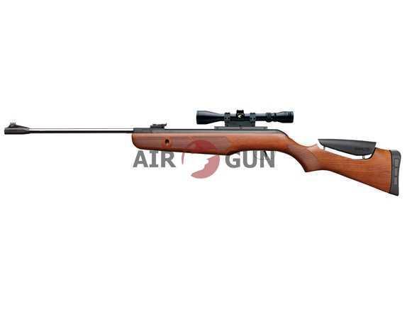 Пневматическая винтовка Gamo Hunter DX Combo 4,5 мм (переломка, дерево, прицел 3-9х40WR)