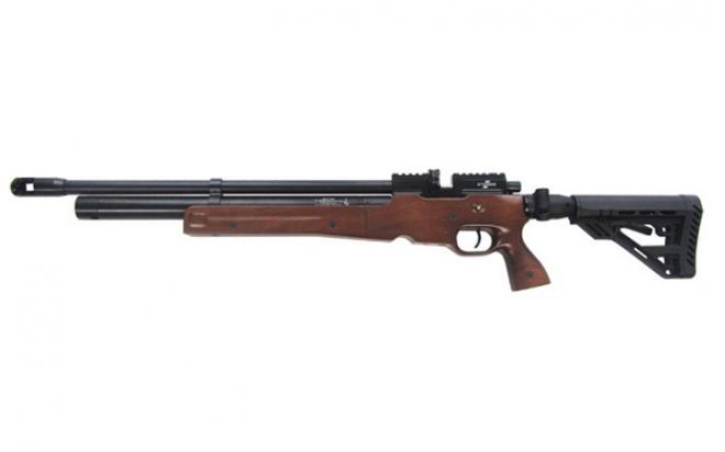 Пневматическая винтовка Ataman M2R Карабин Тактик складной приклад 5,5 мм (Дерево)(515С/RB)