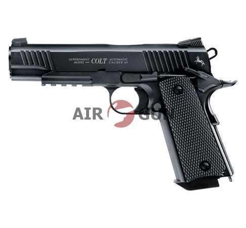 Пневматический пистолет Umarex Colt M45 CQBP Black 4,5 мм