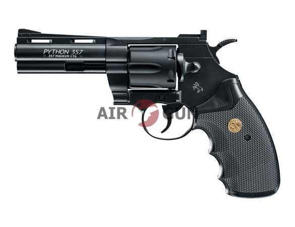 Пневматический пистолет Umarex Python .357 black 4
