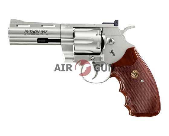 Пневматический пистолет Umarex Python .357 nickel 4
