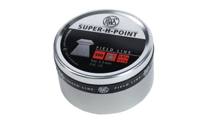 Пули пневматические RWS Super-H-Point 5,5 мм 0,92 грамма (500 шт)