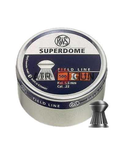 Пули пневматические RWS Superdome 5,5 мм 0,94 грамма (500 шт)