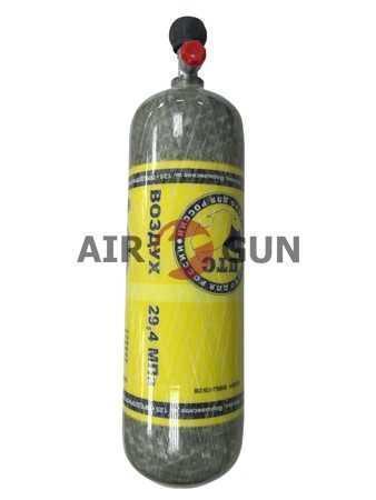 Баллон высокого давления Armotech RBMK 6,8л. без манометра