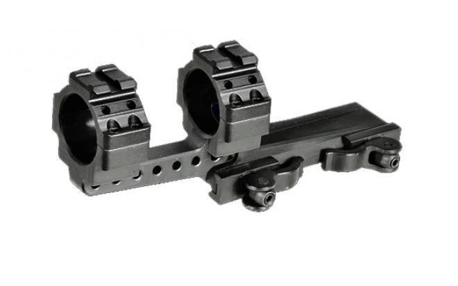 Кронштейн LEAPERS быстросъемный с кольцами 30 мм на Weaver/Picatinny, вынос 65 мм. регулир.рычаги