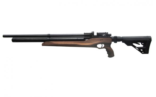 Пневматическая винтовка Ataman M2R Тип II Карабин Тактик 5,5 мм (Дерево)(магазин в комплекте) (615/RB)
