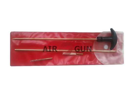 Набор для чистки пневматики в пакете 4,5 мм (латунь, L=500 мм)