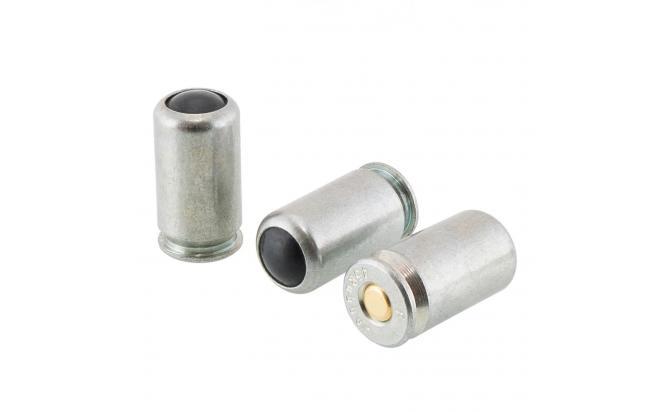 Патрон 45 Rubber Auto, сталь, с резиновой пулей Фортуна (в пачке 12 шт, цена за 1 патрон)