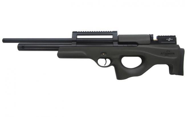Пневматическая винтовка Ataman M2R Булл-пап SL 6,35 мм (Зелёный)(магазин в комплекте)(436/RB-SL)