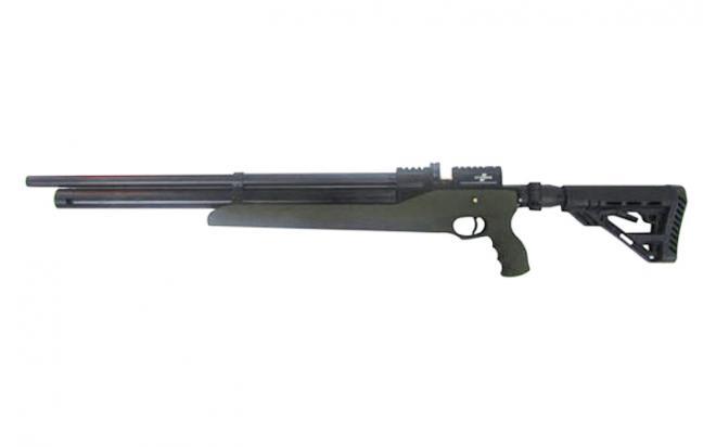 Пневматическая винтовка Ataman M2R Тип IV Карабин Тактик SL 6,35 мм (Зелёный)(магазин в комплекте) (636/RB-SL)