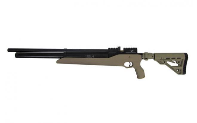 Пневматическая винтовка Ataman M2R Тип IV Карабин Тактик SL 6,35 мм (Песочный)(магазин в комплекте) (646/RB-SL)