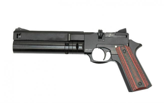Пневматический пистолет Ataman АР16 компакт металл 5,5 мм