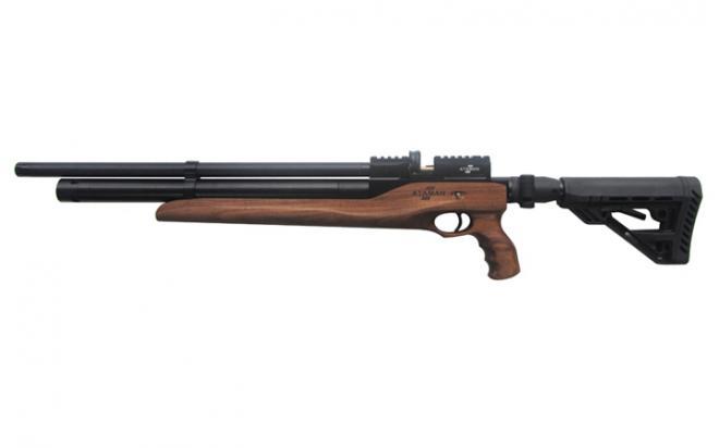 Пневматическая винтовка Ataman M2R Тип II Карабин Тактик SL 5,5 мм (Дерево)(магазин в комплекте) (615/RB-SL)