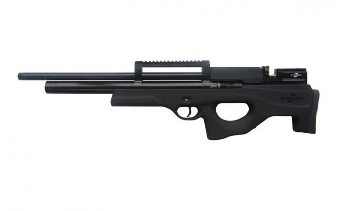 Пневматическая винтовка Ataman M2R Булл-пап SL 4,5 мм (Чёрный)(магазин в комплекте)(424/RB-SL)