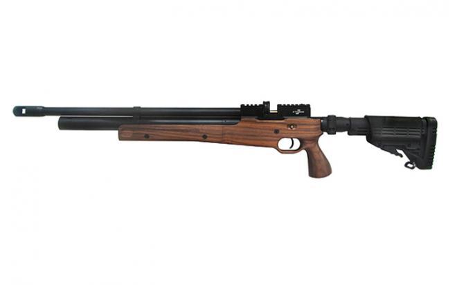 Пневматическая винтовка Ataman M2R Тип III Карабин Тактик укороченная SL 5,5 мм (Дерево)(магазин в комплекте)(515С/RB-SL)(515XC)