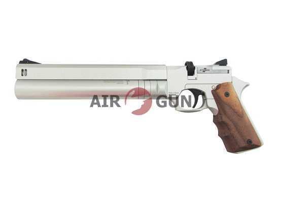 Пневматический пистолет Ataman АР16 Silver стандарт металл 5,5 мм
