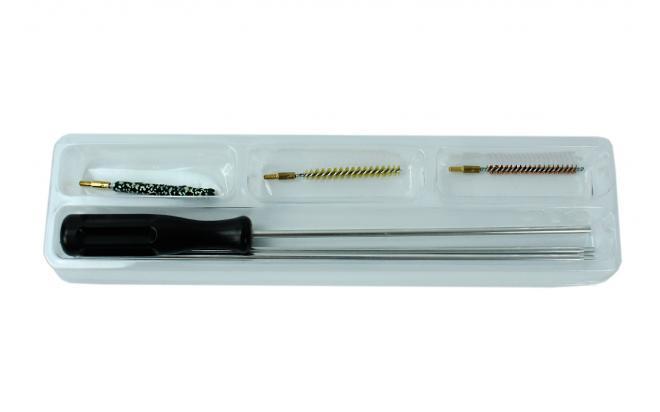 Набор для чистки ShotTime 4,5 мм (мет.шомпол, 3 ерша)