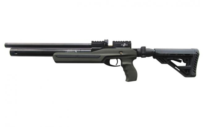 Пневматическая винтовка Ataman M2R Ultra-C SL 5,5 мм (Зелёный)(магазин в комплекте)(735/RB-SL)