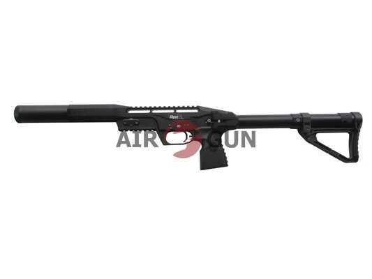 Пневматическая винтовка EDgun Леший удлиненная 6,35 мм (черный)