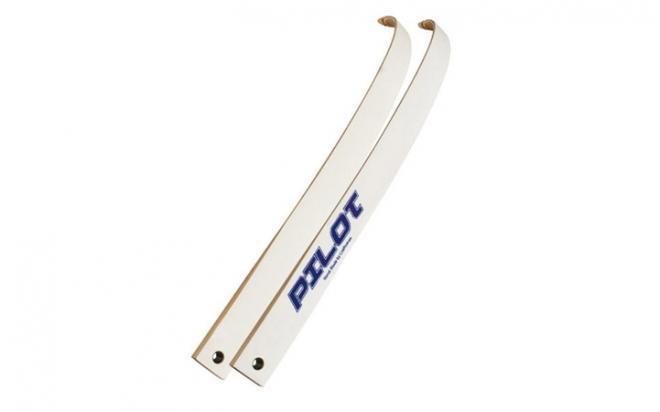Плечи для классического лука Pilot 70, сила 32 Lbs, ламинат фом, белые