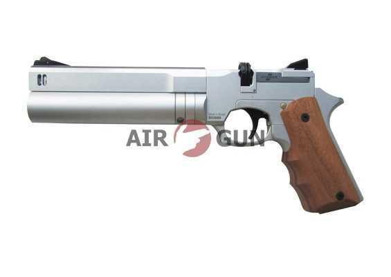 Пневматический пистолет Ataman AP16 компакт металл Silver 4,5 мм