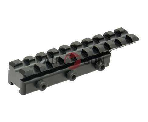 Адаптер Leapers UTG WEAVER/Picatinny на призму 11-12 мм, 9 слотов