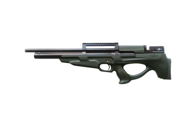 Пневматическая винтовка Ataman M2R Булл-пап SL 6,35 мм (Зеленый)(магазин в комплекте) (836/RB-SL)