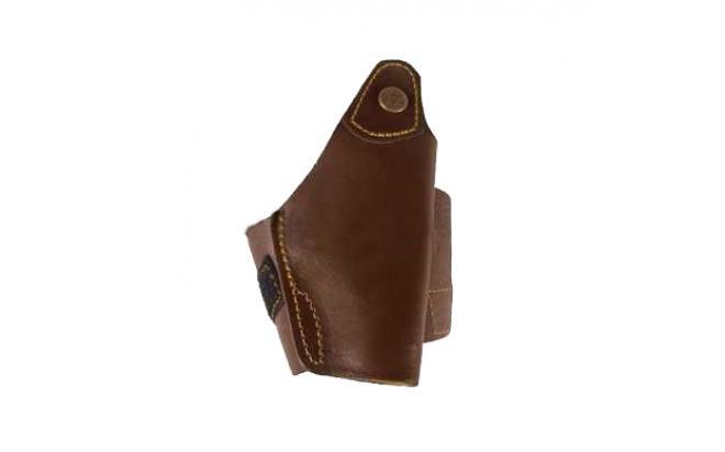 Кобура для ношения на голени Сюрприз ПМ, кожа, коричневый