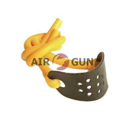 Резинка для рогатки жёлтая MK-TR-Y-L латексная