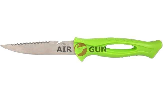 Нож рыбацкий F-212 (ножны пластик)