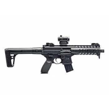 Пневматическая винтовка Sig Sauer MPX BLK-R 4,5 мм