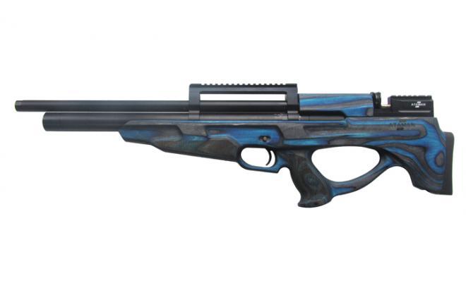 Пневматическая винтовка Ataman M2R Булл-пап SL 6,35 мм (синий ламинат)(магазин в комплекте)(886/RB-SL)