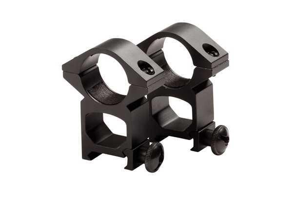 Высокие кольца для установки оптики 25,4x20x21 ASG (11865)