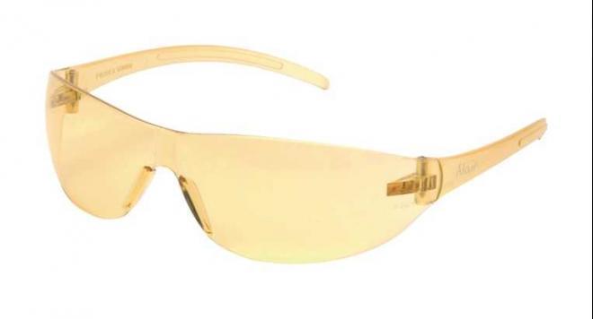 Очки стрелковые защитные ASG (желтые линзы)(17003)