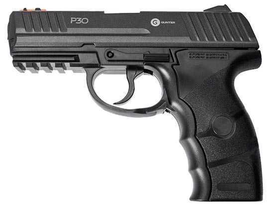 Пневматический пистолет Gunter P30 4,5 мм (55303)