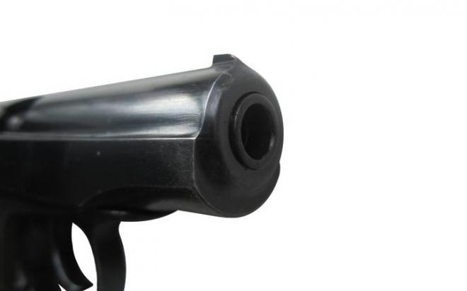 Оружие списанное охолощенное ИЖ-71 9х17К мод. Макаров-СО71 к.10ТК (рег.целик)