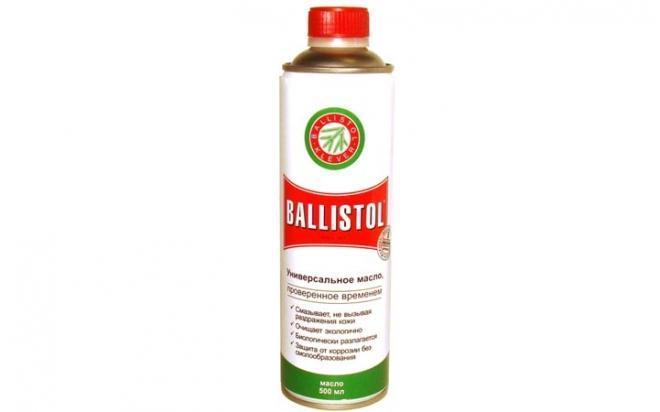 Масло оружейное Ballistol Oil 500мл (жидкое)