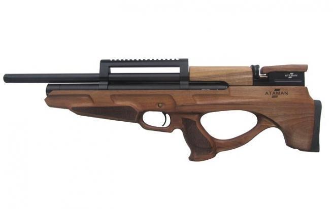 Пневматическая винтовка Ataman M2R Булл-пап укороченная 4,5 мм (Дерево)(магазин в комплекте)(814C/RB-SL)
