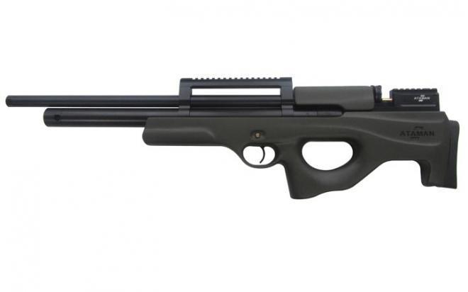 Пневматическая винтовка Ataman M2R Булл-пап 5,5 мм (Зелёный)(магазин в комплекте)(435/RB-SL)