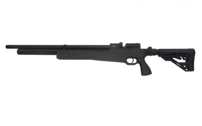 Пневматическая винтовка Ataman M2R Тип III Карабин Тактик SL 5,5 мм (Зелёный)(магазин в комплекте)(535/LB-SL)