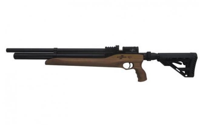 Пневматическая винтовка Ataman M2R Тип IV Карабин Тактик SL укороченная 6,35 мм (Дерево)(магазин в комплекте)(616C/RB-SL)