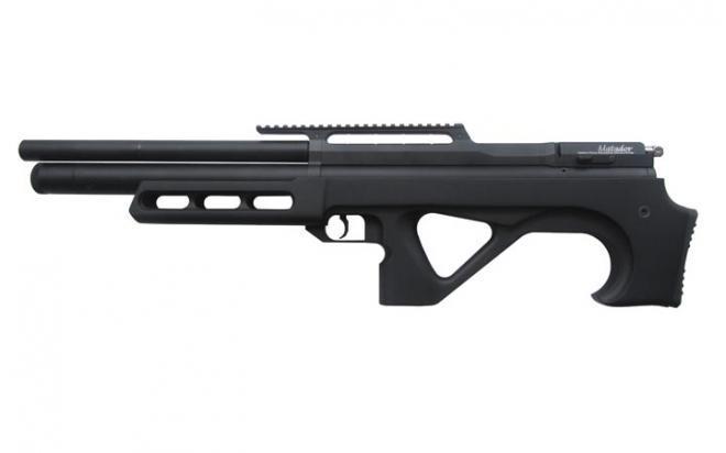 Пневматическая винтовка EDgun Матадор Р3М стандарт 6,35 мм (черный, Soft-touch)
