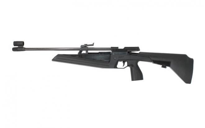 Пневматическая винтовка МР-60 4,5 мм (пласт.муфта с кнопкой предохр.)