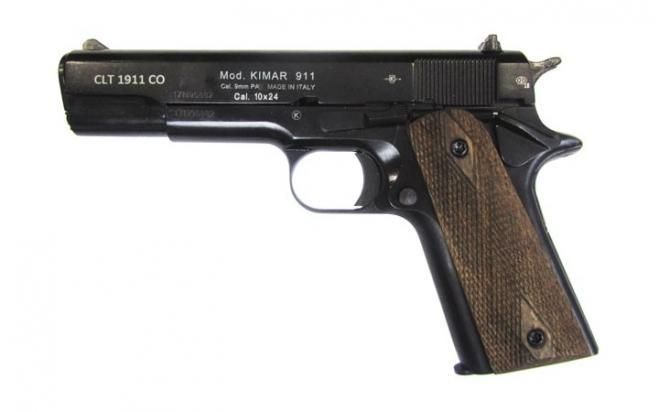 Оружие списанное охолощенное CLT 1911 CO под патрон св/звук.действия кал.10х24 (КУРС-С)
