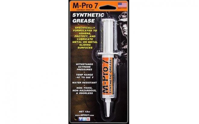 Синтетическая смазка M-Pro 7 для оружия (шприц 15 г)