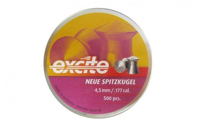 Пули пневматические H&N Excite Neue Spitzkugel 4,5 мм 0,55 грамма (500 шт. )