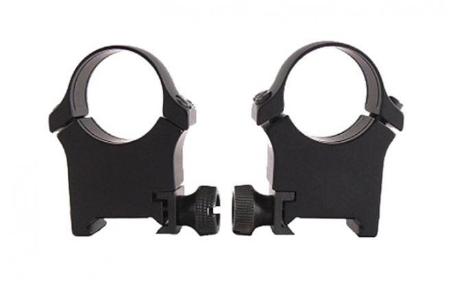 Кольца EAW раздельные быстросъемные на Weaver, кольца 26 мм, высота 20мм., алюминиевый сплав