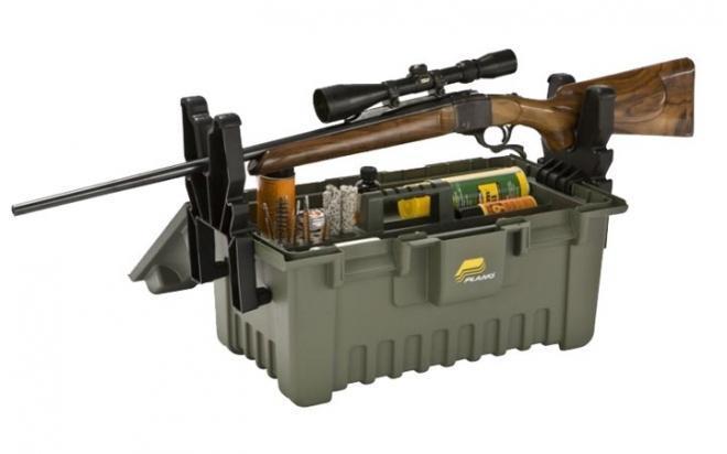 Подставка Plano XL для чистки оружия с ящиком для хранения