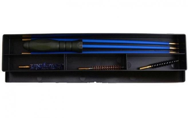Набор для чистки оружия кал. 9 мм (коробка, шомпол металлический в оплётке)